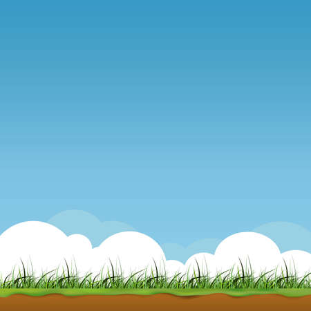web page natural background Illustration