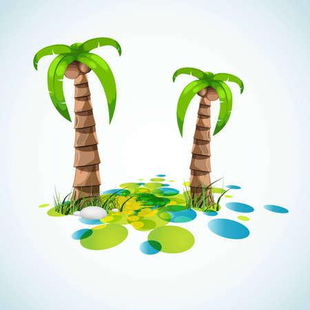summer vacation stylish background Stock Vector - 6810557
