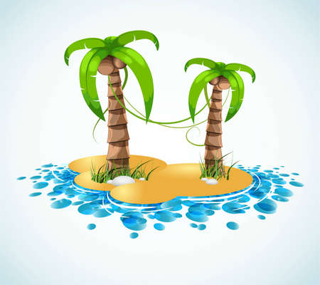 summer vacation stylish background Stock Vector - 6810555