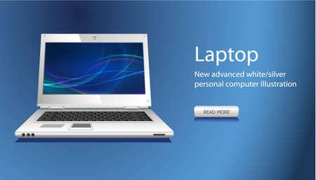 notebook icon: sito Web slider con icona di notebook