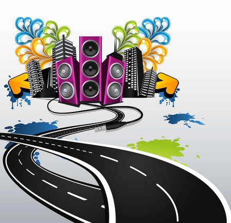 straat feest: weg naar de partij