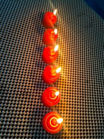 Romantic candles design art lifestyle photography Thailand.