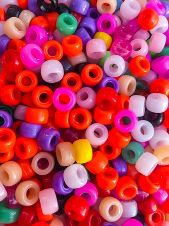 Fashion of the beads colorful lifestyle Stock Photo