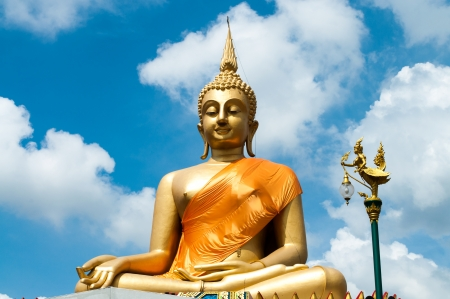 Big Buddha image Stock Photo