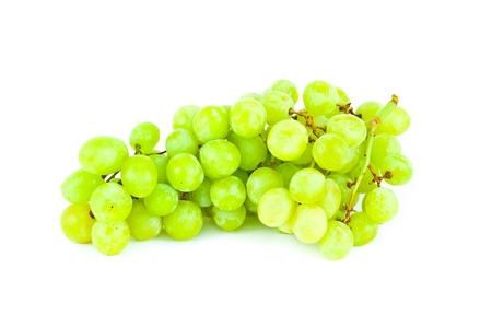 The bunch of grape isolated on white background Stock Photo