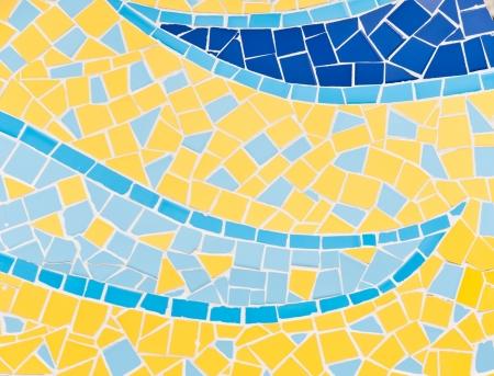 trencadis: Los coloridos azulejos rotos (trencad�s) de fondo de Foto de archivo