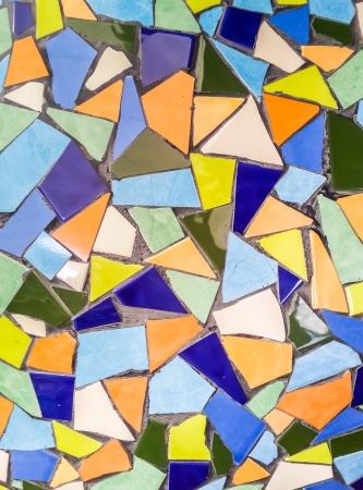 trencadis: Los azulejos rotos de colores (trencad�s) patr�n de fondo