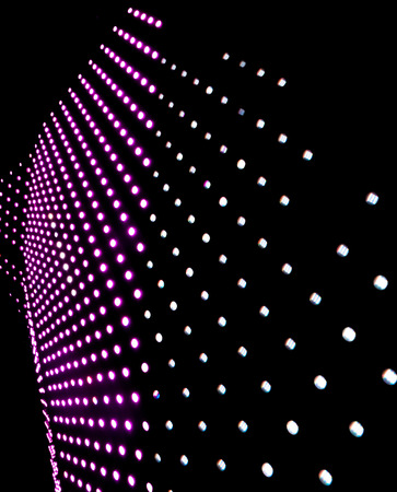 The abstract background of colorful LED lighting
