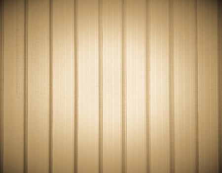vignetted: The vertical stripped curtain pattern vignetted background Stock Photo