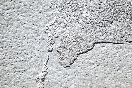 cracked cement: Dirty brown cracked cement floor