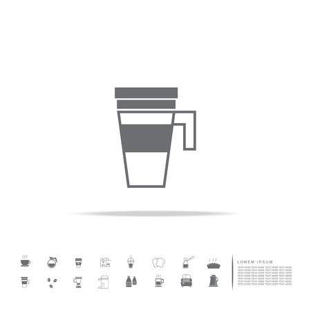 vacuum mug icon Çizim