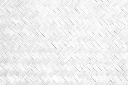 White bamboo texture and background. Stock Photo
