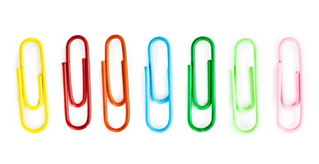 stationery needs: color clips