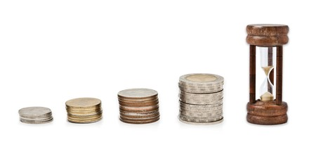 money can't buy time Stock Photo - 8211586