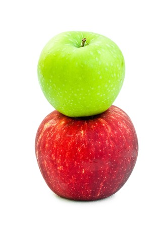two apple Stock Photo - 8211647