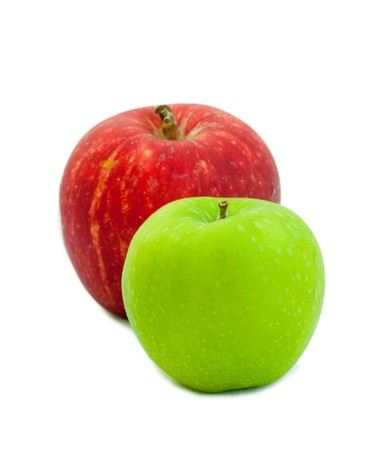two apple Stock Photo - 8211609
