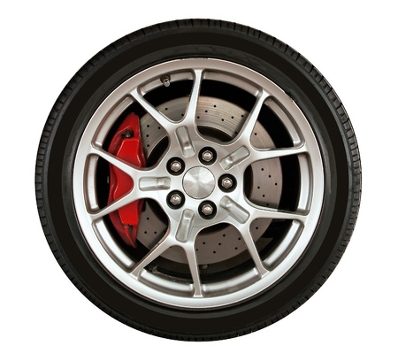 sport wheel car Stock Photo - 8910124