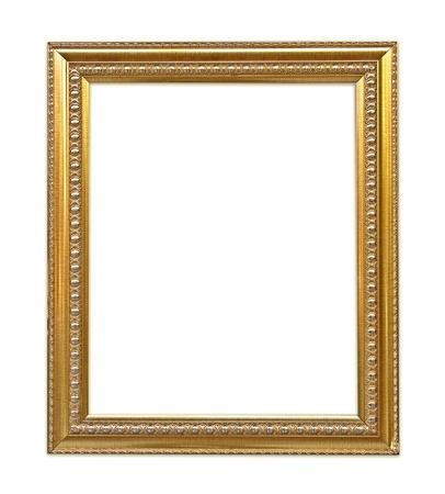 gouden frame Stockfoto