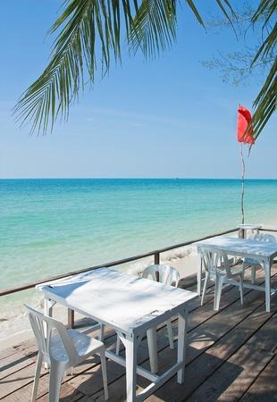 seaside cafe photo