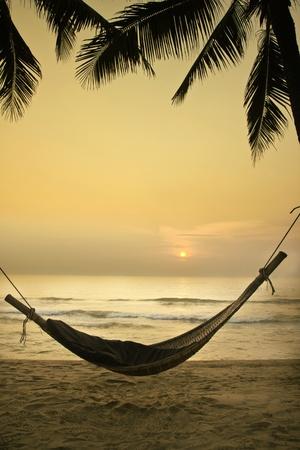 ontspannen strand Stockfoto