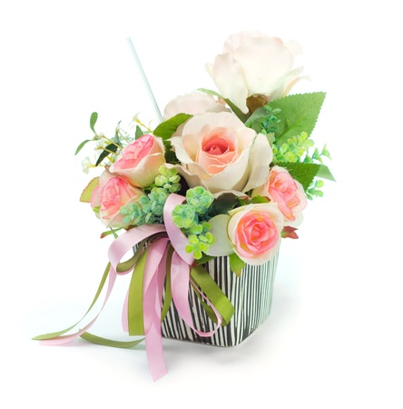 artificial flowers: bouquet flowers