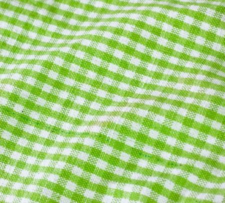 green table cloth Stock Photo - 9522857