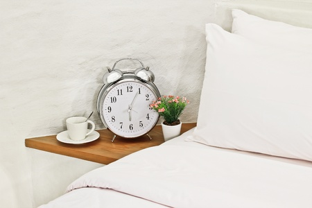 morning in bed Stock Photo - 9658340