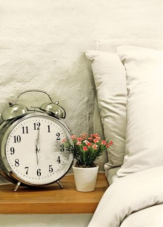 6 o clock in bedroom Stock Photo - 9744832