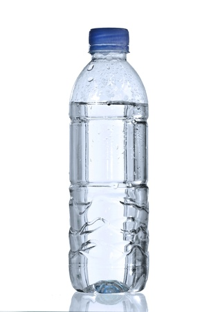 bottle with water: pure water in bottle for healthy life