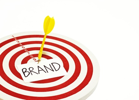 setting goal: darts (branding and setting goal for business)