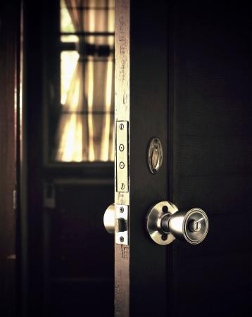 open the dark door to the light Stock Photo - 13507725