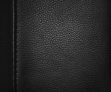 margen: cuero negro y el fondo de margen Foto de archivo