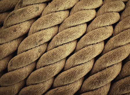 lashing: close up rope texture background