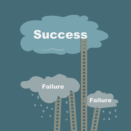 ladders to success and to failure photo
