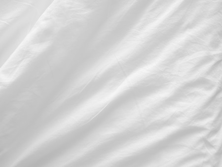 plech: měkký bílý prostěradla background Reklamní fotografie