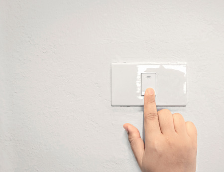 turn off the light and wall background