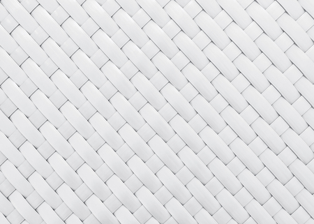 woven: white wicker pattern for background