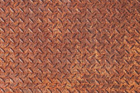 rough diamond: texture of rusty steel plate