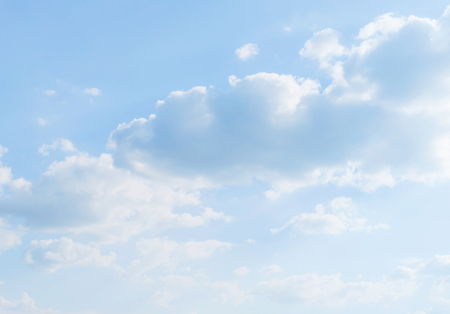 sunlight sky: sunlight and clouds in bright blue sky