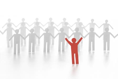 team leadership: paper people (leadership in team)