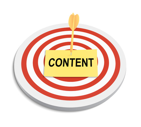 target market: create content to attract target market