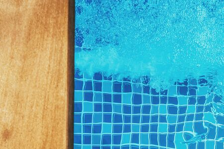 water pressure to hydro massage therapy in spa swimming pool
