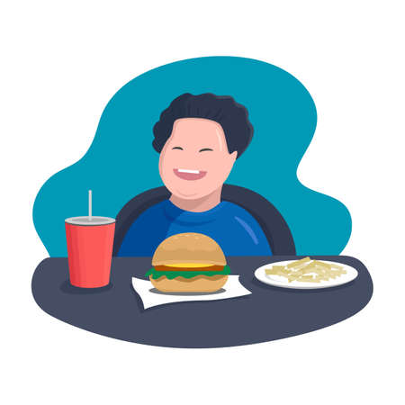 child and fast food. kids most exposed to junkfood advertising, which is low in nutrients and full of fat, sugar and salt. excess eating and lack of exercise affect health overweight and obesity.