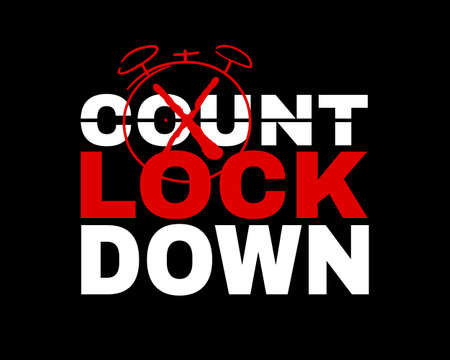 Countdown to Lockdown. New year lockdown rules. The restriction orders during the increasing rate of COVID-19 infected people. Parties or celebrations in public is prohibited over the festive period.