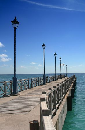 self discovery: Tranquil Boardwalk
