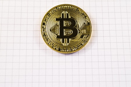 Bitcoin is a modern way of exchange and this crypto currency is a convenient means of payment in the financial and web markets Zdjęcie Seryjne