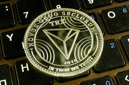 Tron is a modern way of exchange and this crypto currency is a convenient means of payment Фото со стока