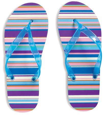 flip flops: Flip Flops on white background