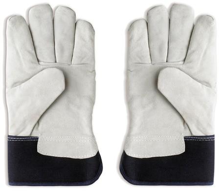gardening gloves: Gardening gloves on a white background