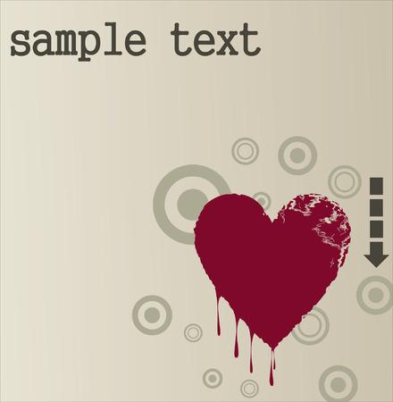 Love card Stock Vector - 8715970